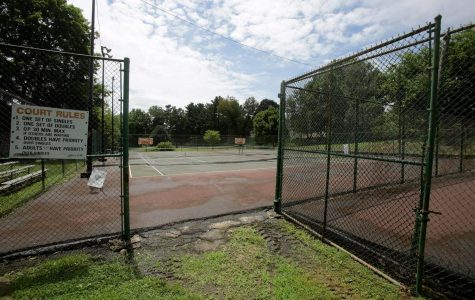 Reservoir Park Tennis Courts Being Re-Done