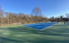 Freshly painted and reconstructed courts are open to the public