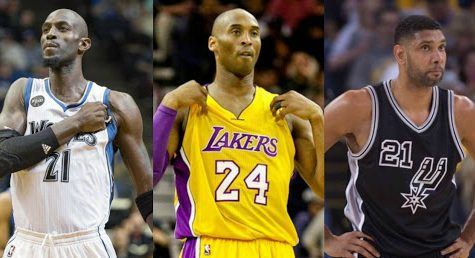 The three NBA players nominated as finalist for the HOF
