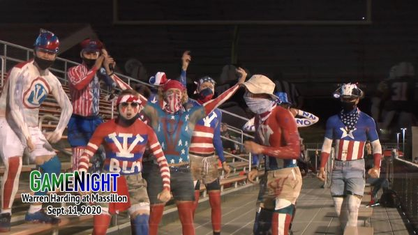 The Village Idiots returned to Paul Brown Tiger Stadium to cheer on the Tigers to victory.