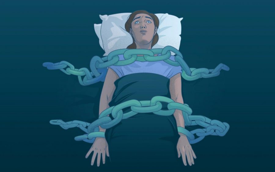 Sleep paralysis sounds like a terrifying experience, but what does it really feel like?