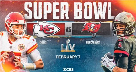 Super Bowl LV, the 55th Superbowl; Chiefs at Buccaneers