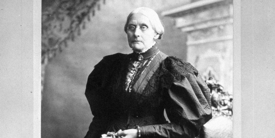 Susan B. Anthony is one of the many women we can thank for the expansion of women's rights.